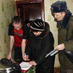 Смотровая комиссия Рогачевского райисполкома заставила навести порядок и жить достойно
