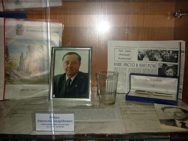 Среди личных вещей экс-мэра – граненый стакан.