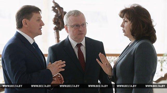 Михаил Журавков, Геннадий Пальчик и Наталья Кочанова