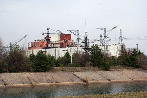 Пятый и шестой реакторы ЧАЭС.