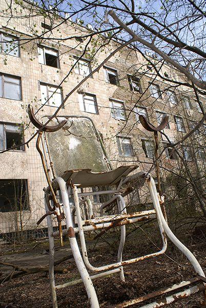 Бывший госпиталь станции в Припяти - самое жуткое место в городе
