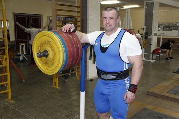 Петр Климков – безоговорочный претендент на звание самого сильного человека Рогачевщины.