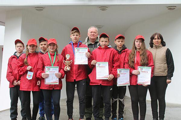 Довские школьники отстояли честь Рогачевщины.