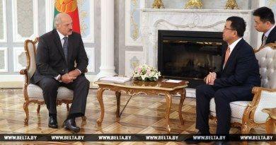 Беларусь рассчитывает на реализацию новых крупных проектов с участием китайской корпорации «СИТИК Групп» — Лукашенко