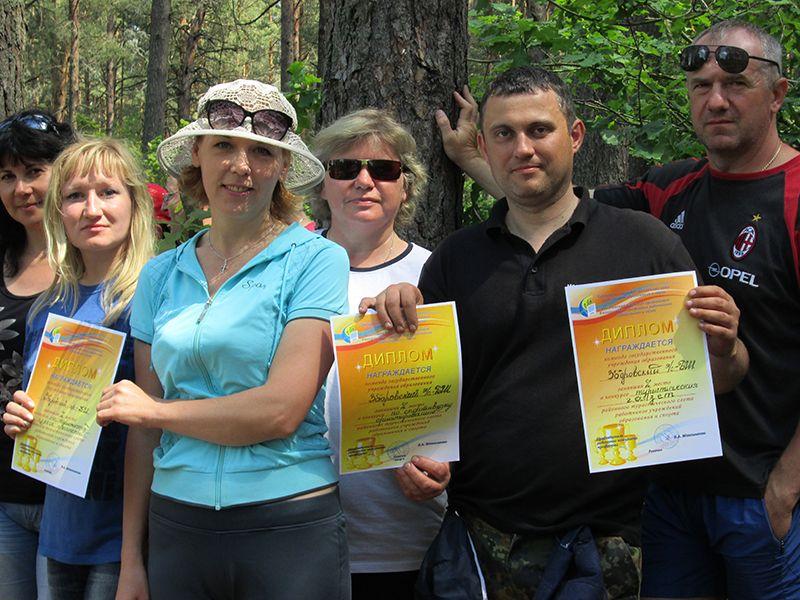 Педагоги Зборовского яслей-сада-базовой школы – лучшие туристы!