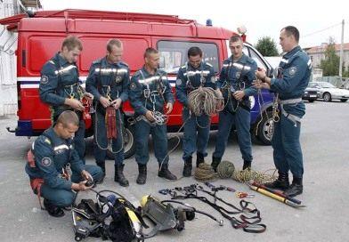 Один за всех и все за одного — девиз команды рогачевских спасателей-пожарных