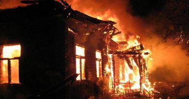 Пожар в Рогачеве: пострадавших нет
