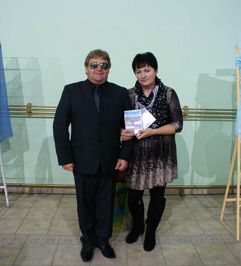 Сергей Филипченко со своей Надеждой – супругой, музой и воплотителем его идей.