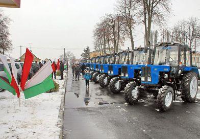 Аграрии-чемпионы собрали в Рогачеве  урожай наград