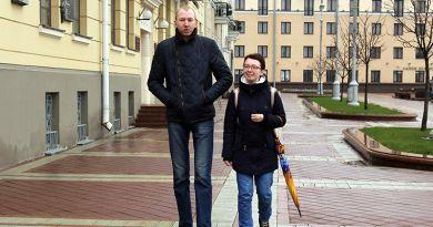 Рекордсмены Рогачевщины. Сергей Доманцевич — самый высокий  человек