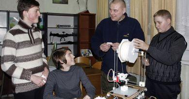 В Рогачёве собрали первый 3D-принтер