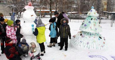 ФОТОРЕПОРТАЖ. Около 1000 рогачёвцев  приняли участие в празднике снега и зимних забав