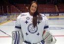 Белоруска стала хоккейным вратарем в Швеции