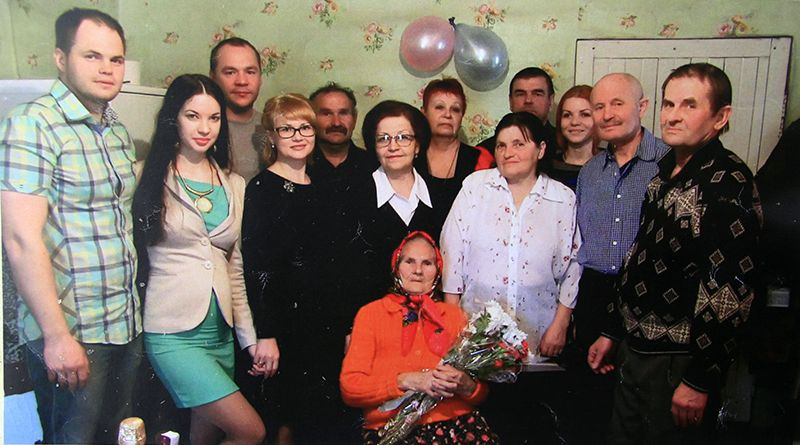 Свой 100-летний юбилей Татьяна Ивановна ЖУКОВА отметила в окружении  родственников и земляков.