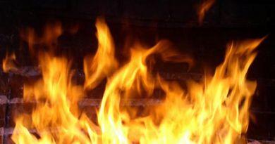 В Рогачёве был пожар в здании общества охотников и рыболовов