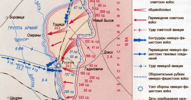 Февраль 1944-го:  как освобождали  Рогачёв