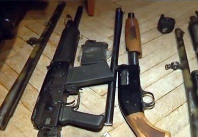 При задержании у активиста «Белого легиона» изъяты гранаты, дробовики, автомат