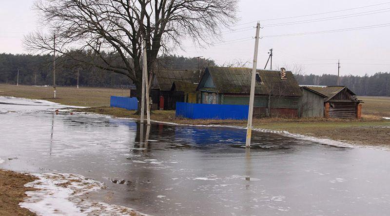 Весна пришла в деревню Стреньки с большой водой.