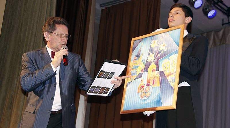 Павел ВОЛКОВ успешно провёл первый в Рогачёве благотворительный аукцион.