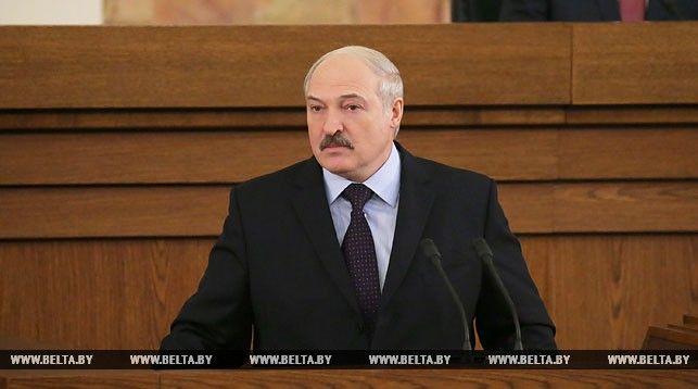 Послание Лукашенко белорусскому народу и Национальному собранию