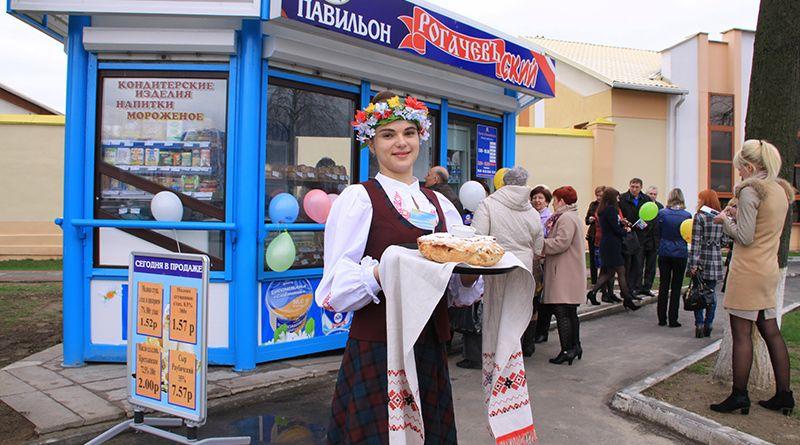Хлебосольный павильон «Рогачёвъский» всегда рад своим покупателям.