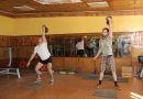 Педагоги Рогачёва  преподали спортивный урок