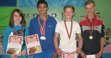 Спортсмены с Рогачёвского района привезли серебро и две бронзы