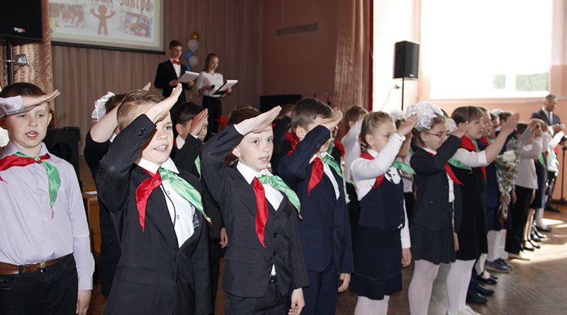 В ряды рогачёвской пионерии влились новые активные и ответственные ребята.