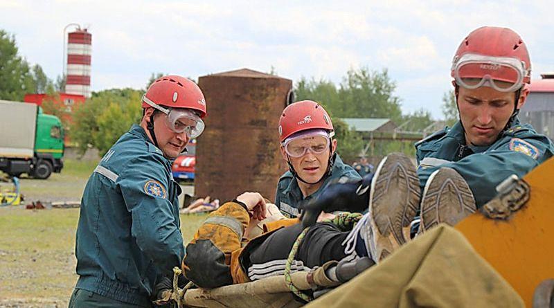 Рогачёвские спасатели – одна из самых ловких и сильных команд  Гомельщины.