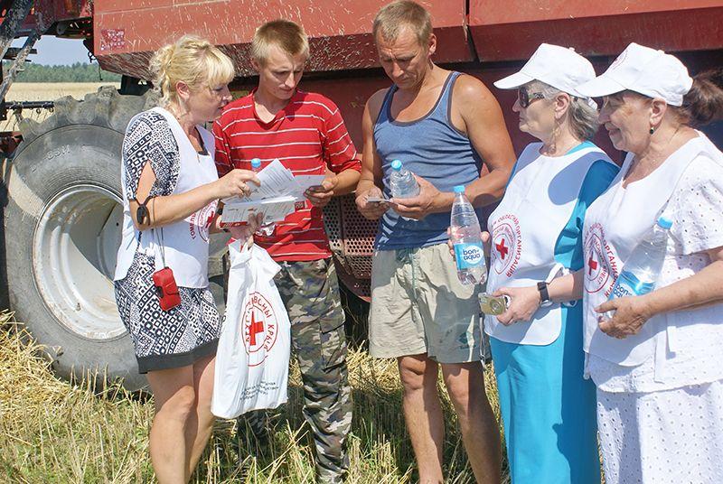 Труженикам рогачёвских полей было приятно внимание к их непростому делу.