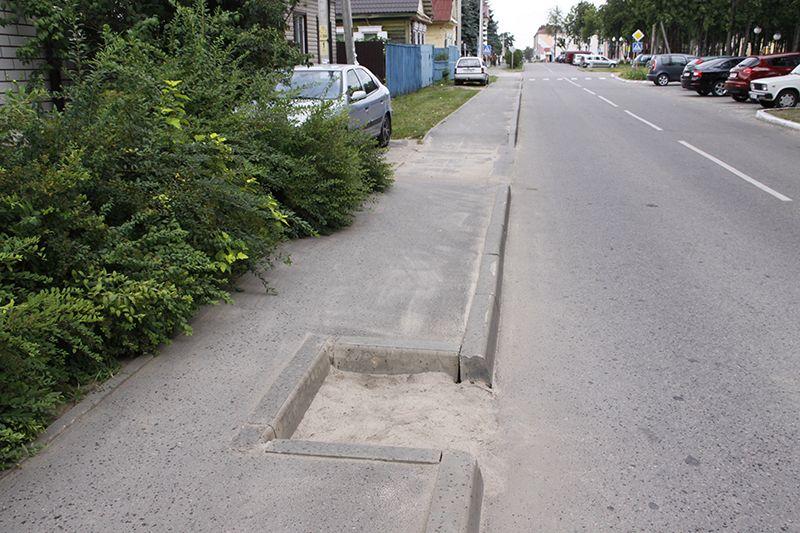 Это не дорожный глюк, а канализационный люк.