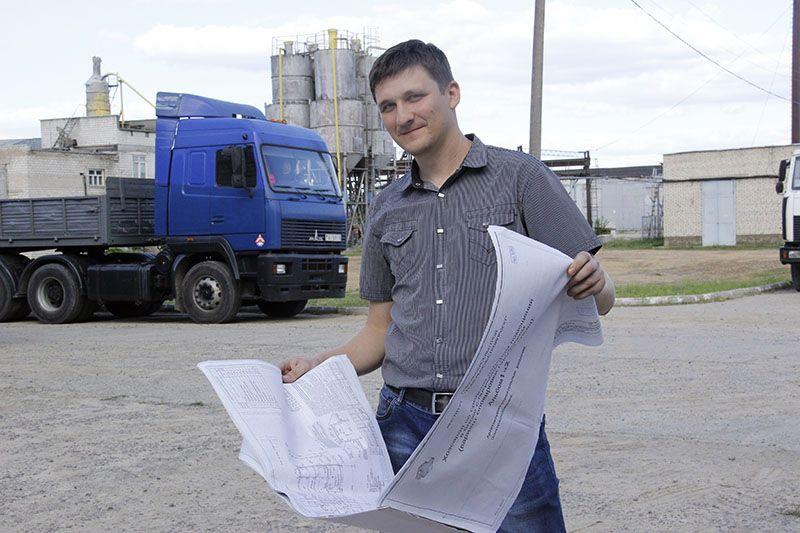 За плечами у молодого инженера Вадима ТИХОНОВА  уже не один успешно сданный проект.