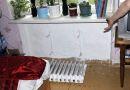 В Рогачёве жильцы дома № 17 по улице Белинского  три месяца живут в разрухе и без горячей воды