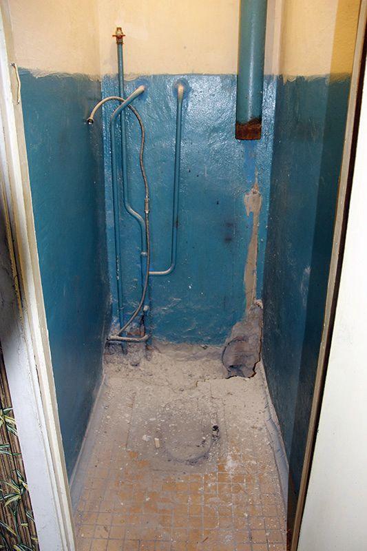 Так выглядит туалет в одной из квартир.