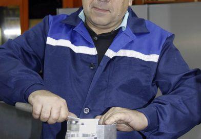 Рогачёвец Александр Пуховский представитель «золотого фонда» ОАО «Рогачёвский завод «Диапроектор»