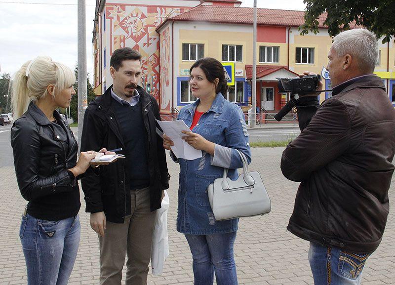 Гомельчанину Антону ШУМИХИНУ понравился уличный эксперимент от рогачёвских журналистов.