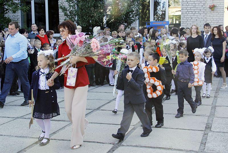 Рогачёвских первоклассников ждёт 11 лет открытий и достижений.
