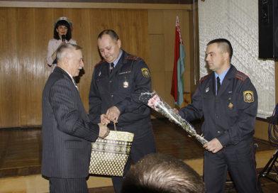 В Рогачевском РОВД прошли торжественные мероприятия, посвященные Дню чествования ветеранов ОВД и Дню образования отдела внутренних дел