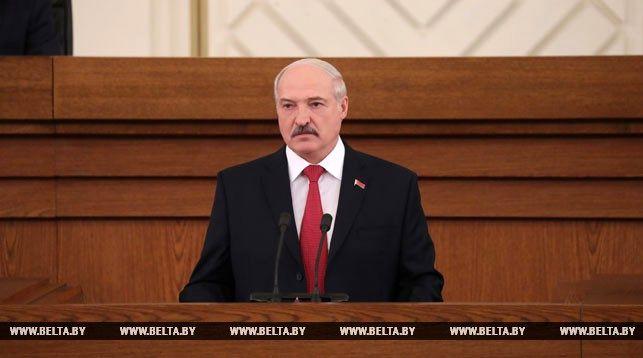 Открылось совместное заседание Палаты представителей и Совета Республики Национального собрания Беларуси