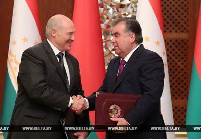 От политики и экономики до борьбы с терроризмом — Лукашенко и Рахмон приняли совместное заявление