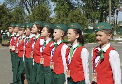 На Рогачёвщине прошёл районный этап I международной военно-патриотической игры «Зарница»