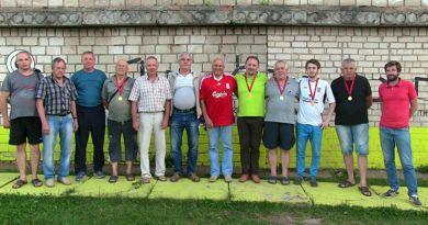 Чемпионат Рогачёва по городошному спорту принёс в этом году немало сенсаций