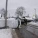 В Рогачёве на улице Калинина столкнулись три автомобиля